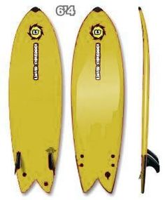 0158f5ab691 Liquid Shredder Same Color Top And Bottom 64 Fish Surfboard- All Colors  from Liquid Shredder