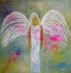 Primitive Carrots, Angel Pictures, Angel Art, Christmas Decorations, Cherubs, Canvas, Fairies, Artist, Artwork