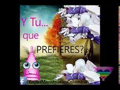 #CopaMenstrual Como funciona la Copa Menstrual con válvula #Colombia