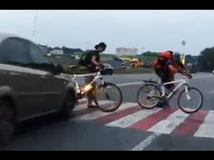 Bicycle Accidents and Crashes Compilation - Road Traffic Fail Videos