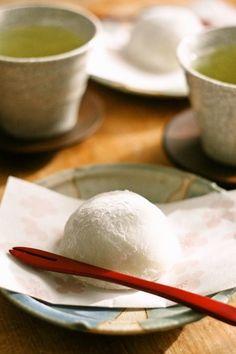 Daifuku:Mochi with Red Bean Paste