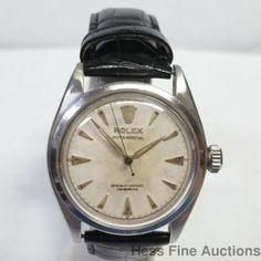 Running 1954 6084 Rolex Bubbleback Mens Watch Sweep Seconds Vintage #Rolex #Sport