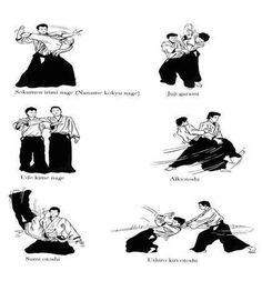Aikido technics