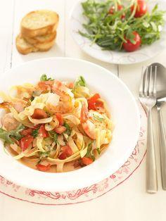 Garnelen-Tomaten-Pfanne-Rezept