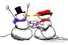 Snowman Funny Christmas Cartoons Pictures 2013