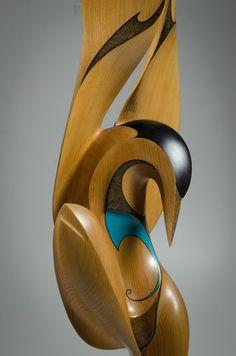 Dance of the Tern by Rex Homan, Māori artist (KR141101)