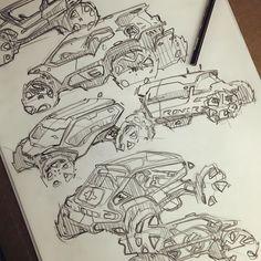 Chris Piscitelli viscom sketches