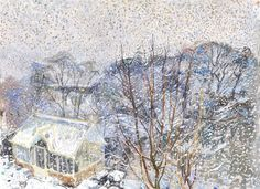 Snow Shower, March. Duncan Shanks