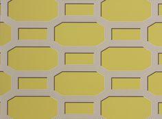 Octa Wallcovering Acacia | Fougere Wallcoverings | Contemporary Geometric Design | Romo Fabrics | Designer Fabrics & Wallcoverings, Upholstery Fabrics