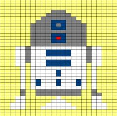 Knitting patterns for star wars but could also be cross stitch