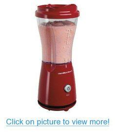 Hamilton Beach Red Hamilton Beach Single Serve Blender - Red - Medium #Hamilton #Beach #Red #Single #Serve #Blender #Medium