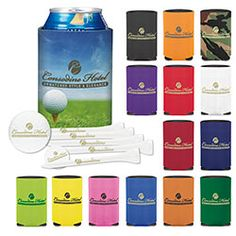 Golf Sports Water Bottles Koozies Amp Coolers On Pinterest