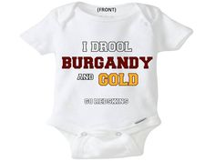 Washington Redskins onesie toddler shirt creeper bodysuit cute awesome baby shower gift christmas