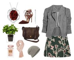 """""""Untitled 4"""" by miss-a-belle ❤ liked on Polyvore featuring Marni, Allurez, Lot78, Gianvito Rossi, Boskke, Marc by Marc Jacobs, Obsessive Compulsive Cosmetics, Giorgio Armani, Free People and William Sharp"""