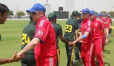 Shakh Hand the Both Teams
