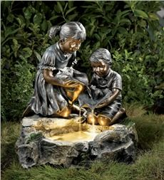 Playful Children LED Fountain
