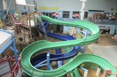 Breaker Bay Indoor Waterpark and Entertainment Center at the Blue Harbor Resort and Conference Center in Sheboygan.