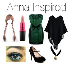 """""""Anna Inspired!🎀"""" by jazzrodgers ❤ liked on Polyvore featuring Balmain and MAC Cosmetics"""