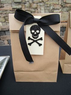 Boo-tiful party favors for a Halloween Party