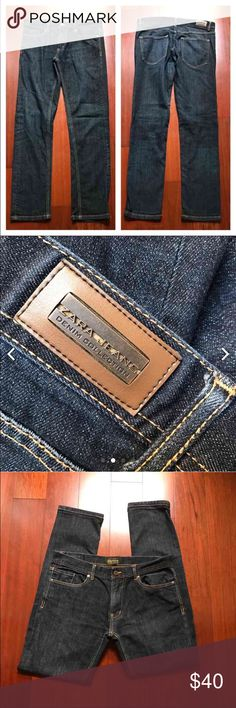 "Zara Jeans Denim Collection Very nice slim jeans for men! Great as gift for him or for yourself! Inseam 32"". In excellent condition! Zara Jeans Slim"