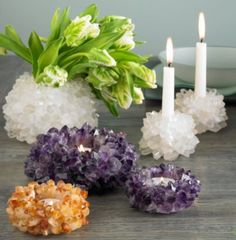 Grow Crystals At Home In Jar Candle Craft Video Tutorial