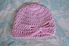 Free Butterfly Crochet Patterns | Alli Crafts: Free Pattern: Butterfly Hat - Newborn