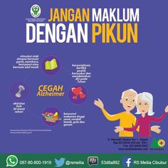 Awas pikun Health And Nutrition, Health Tips, Health Care, Health Fitness, Health Ledger, Self Reminder, Medical Information, Midwifery, Psychology Facts