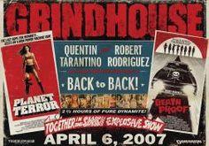 #Grindhouse #DeathProof #PlanetTerror #QuentinTarantino #RobertRodriguez #KinoAkcji #CzteryStronyKina