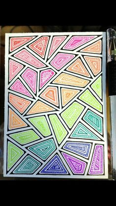 Discover recipes, home ideas, style inspiration and other ideas to try. Doodle Art Drawing, Cool Art Drawings, Zentangle Drawings, Mandala Drawing, Zentangle Patterns, Zentangles, Sharpie Drawings, Sharpie Art, Dibujos Zentangle Art