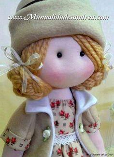 Марриэтта: Шьем куколку Diana в одежде и с сумочкой