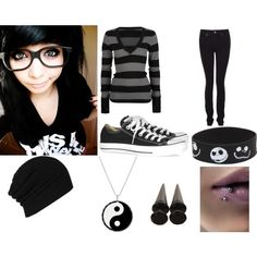 Untitled #89, created by scene-girl-foreva on Polyvore