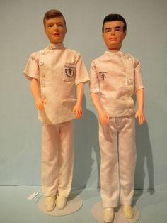 Dr Kildare & Dr Ben Casey dolls