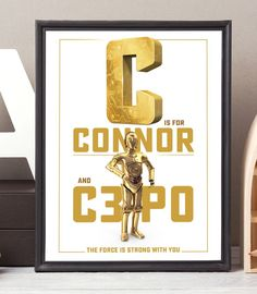 Godfather godmother gift baptism gift for godparents will you be star wars nursery print star wars gift personalized baby name sign nursery initial negle Choice Image