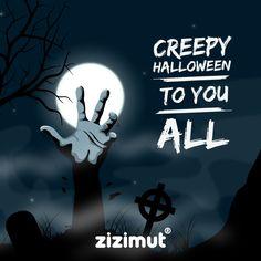 Creepy halloween to you all! 👿 #zizimut #funnytshirts #porto🇵🇹 #halloween #horror #creepy