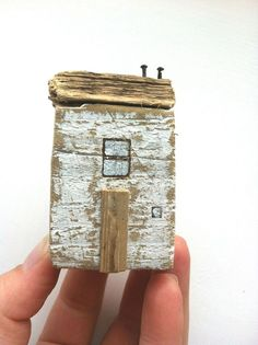 Small house from driftwood