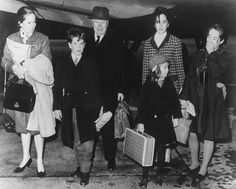 Chaplin family portrait