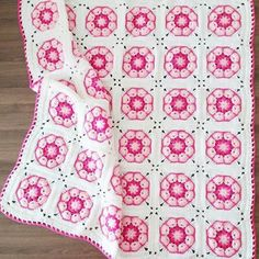 68 Ideas for crochet baby blanket free pattern granny square african flowers Crochet Baby Blanket Free Pattern, Crochet Quilt, Granny Square Crochet Pattern, Crochet Stitches Patterns, Crochet Motif, Crochet African Flowers, Crochet Flower, Crochet Shawls And Wraps, Manta Crochet