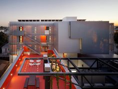 2014 AIA HUD Secretary Award recipient for Excellence in Affordable Housing Design Award - 28th Street Apartments (Los Angeles) by Koning Eizenberg Architecture, Inc. Photo © Eric Staudenmaier