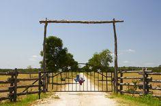 texas ranch gate