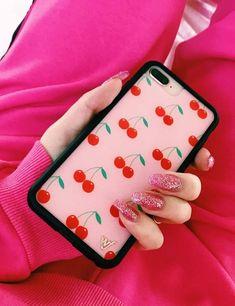 Cherries iPhone X/Xs Case   Pink
