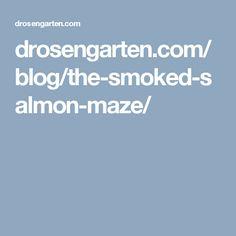 The Smoked Salmon Maze Live Happy, The Smoke, Smoked Salmon, Maze, Logo, Healthy, Logos, Labyrinths, Health