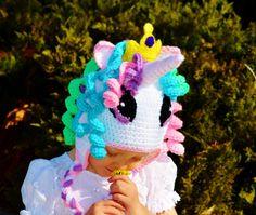 Articoli simili a Cappello di cappello celeste principessa, principessa Celestia cappello, My Little Pony, Pony Celestia cappello, cappello di unicorno, regalo di compleanno unico, doccia regalo, cappello su Etsy