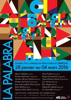 """""""La Palabra"""" 3er Muestra de Arte Contemporáneo Latinoamericano en Burdeos (MACLA)"""