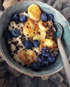 Tasty, Yummy Food, Oatmeal, Food And Drink, Banana, Cookies, Breakfast, Kitchen, Vegans