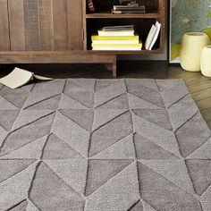 Andes Wool Rug - Soot