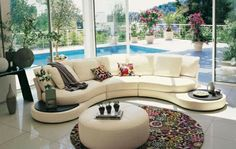 Modern living room furniture design open