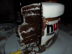 Use this design with Nutella Cake recipe!
