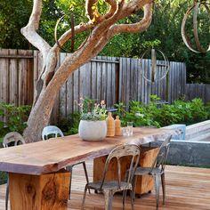 Rustic outdoor furniture