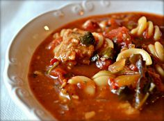 It's the dish every boy wants to marry and every girl wants to be: VEGAN LASAGNA SOUP!