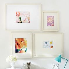 gallery frames 11x13 white